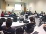 2015 M09 D30 - Palestra Institucional do CREA-SC, CREDCREA, CREA-JR e ASCEA para formandos do curso de Engenharia Mecânca da Faculdade SATC – Criciúma/SC
