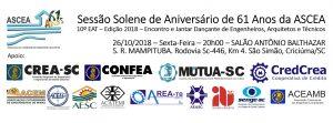 2018 - Sessão Solene e 10o Capa Face